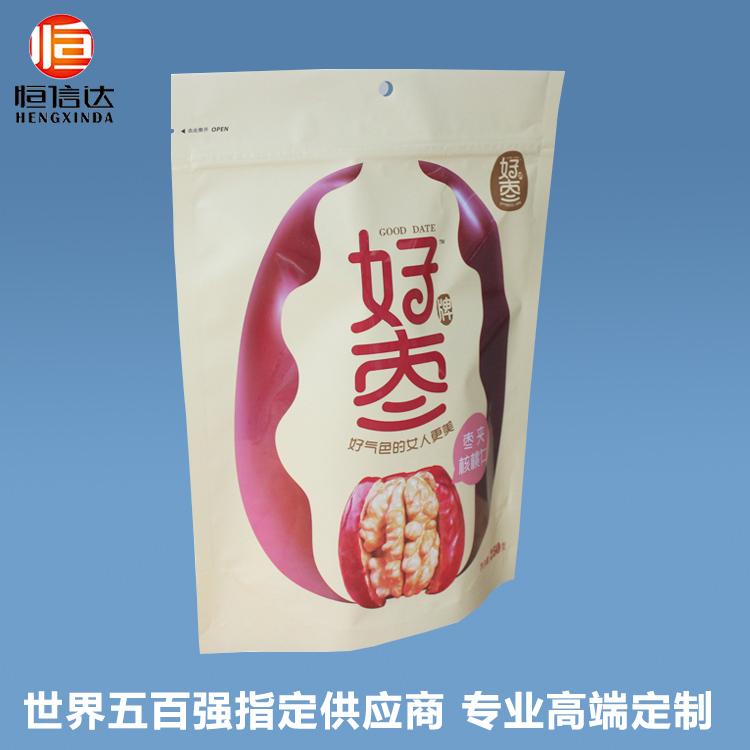 自立自封食品包装袋核桃干果红枣包装袋